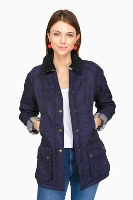 Barbour Barbour® Navy Beadnell Polarquilt Jacket $275 thestylecure.com