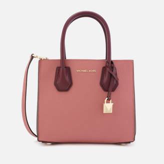 MICHAEL Michael Kors Women's Mercer Acordion Messenger Bag - Rose Multi
