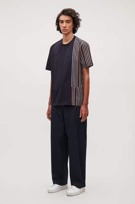Cos OVERSIZED STRIPED T-SHIRT