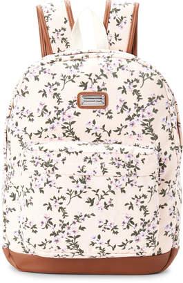 Madden-Girl Floral Canvas Backpack