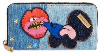 Marc Jacobs Women's Marc Jacobs Denim Wallet - Blue