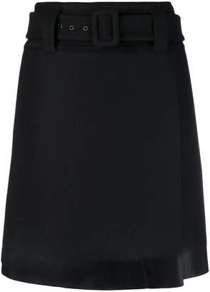 Prada short belted skirt