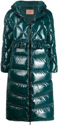 Twin-Set padded long coat