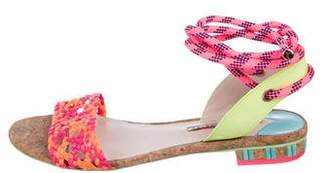 Sophia Webster Leather Flat Sandals