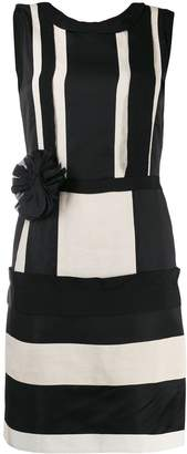 Lanvin Pre-Owned 2010 striped pencil dress
