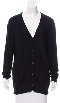 Alexander Wang V-Neck Button-Up Cardigan