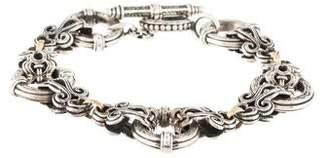 Konstantino Two-Tone Link Bracelet