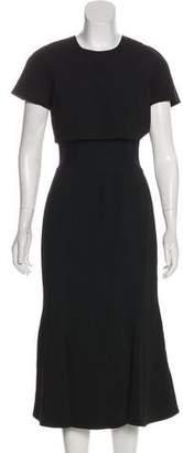 Proenza Schouler Short Sleeve Midi Dress