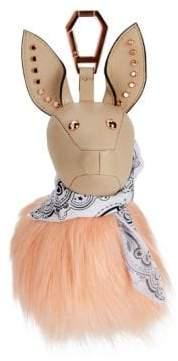 KENDALL + KYLIE Bambi Faux Fur Dog Bag Charm