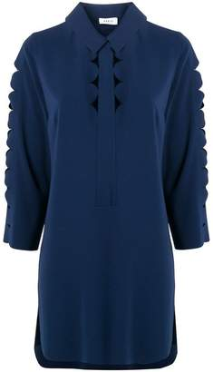 Akris Punto cut-out detail blouse