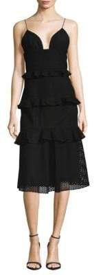 Cushnie et Ochs Cotton Midi Dress