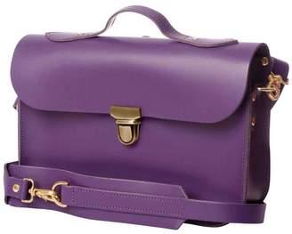 Trilogy N'Damus London - Small Purple Leather Rucksack & Satchel