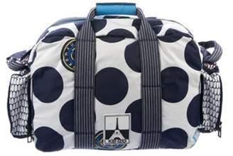 Kenzo Polka Dot Nylon Duffel Bag white Polka Dot Nylon Duffel Bag