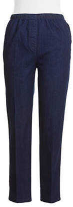 Allison Daley Pull On Faux Fly Jeans
