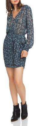 1 STATE 1.STATE Wild Blooms Wrap Front Dress