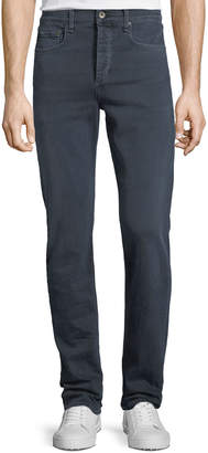 Rag & Bone Men's Standard Issue Fit 3 Loose-Fit Straight-Leg Jeans, Navy Blue