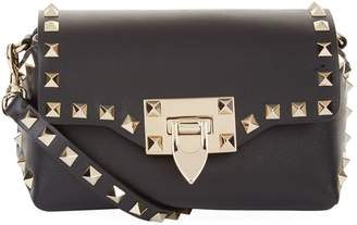 Valentino Leather Rockstud Cross Body Bag