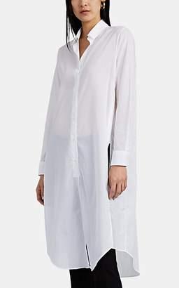 Barneys New York Women's Cotton Voile Shirtdress - White