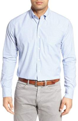 Peter Millar Crown Finish Regular Fit Check Sport Shirt