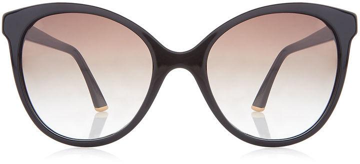 Sunday Somewhere Black Lily Butterfly Sunglasses