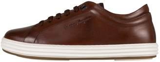 Salvatore Ferragamo Brown Patent leather Trainers