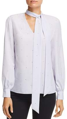Ted Baker Sandye Sparkle Tie-Neck Blouse - 100% Exclusive