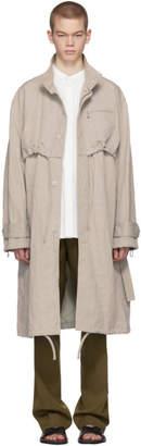 Acne Studios Grey Malki Coat