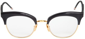 Thom Browne Acetate Cat-Eye Optical Glasses