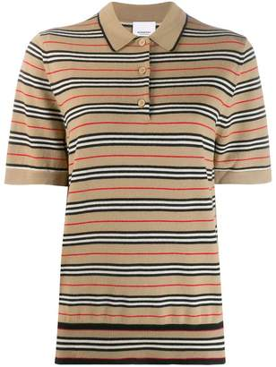 Burberry striped polo shirt