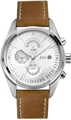 JBW Men's The Woodall Diamond & Crystal Watch