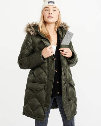 Abercrombie & Fitch Down-Filled Parka
