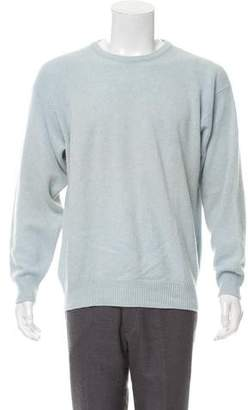 Luciano Barbera Crew Neck Cashmere Sweater