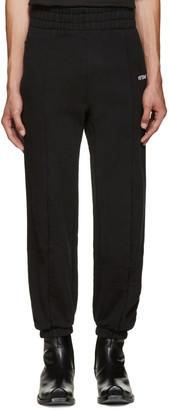 Vetements Black Biker Lounge Pants $770 thestylecure.com