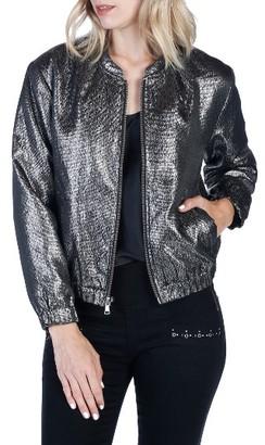 Women's Rosie Hw X Paige Kimi Bomber Jacket $328 thestylecure.com