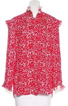 Derek Lam Silk Button-Up Top w/ Tags