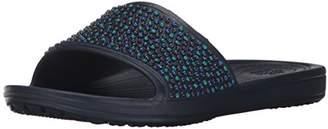 Crocs Women's Sloane Embellished Slide Sandal