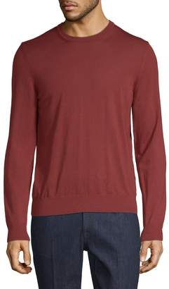 Zegna Men's Wool Crew Sweater