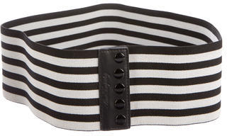 Alice by Temperley Wide Striped Belt $75 thestylecure.com