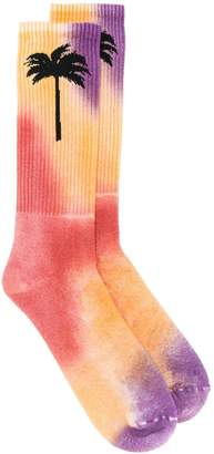 Palm Angels colour-block socks