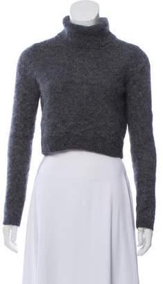 Intermix Cropped Turtleneck Sweater