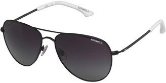 O'Neill Vita Aviator Sunglasses Black/White