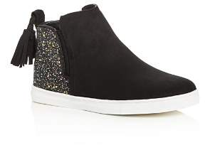 Dolce Vita Girls' Zada Glitter High Top Sneakers - Little Kid, Big Kid