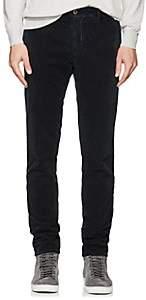 Incotex Men's Cotton Corduroy Slim Trousers - Navy