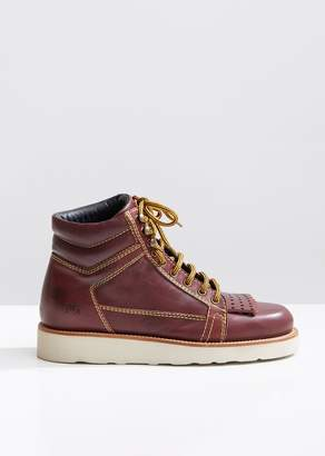 J.W.Anderson Leather Hiking Boots