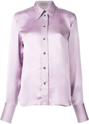 Bottega Veneta classic slim fit shirt
