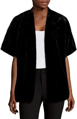 Saks Fifth Avenue Women's Open-Front Faux Fur Sweater