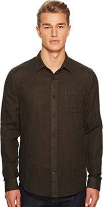 Vince Men's Double Face Long Sleeve Button Down