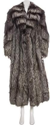 Fur Long Fox Coat