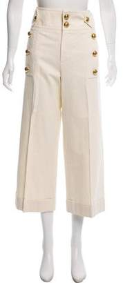 Gucci High-Rise Wide-Leg Pants