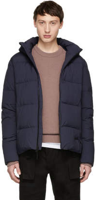 Woolrich John Rich and Bros Navy Down Comfort Jacket